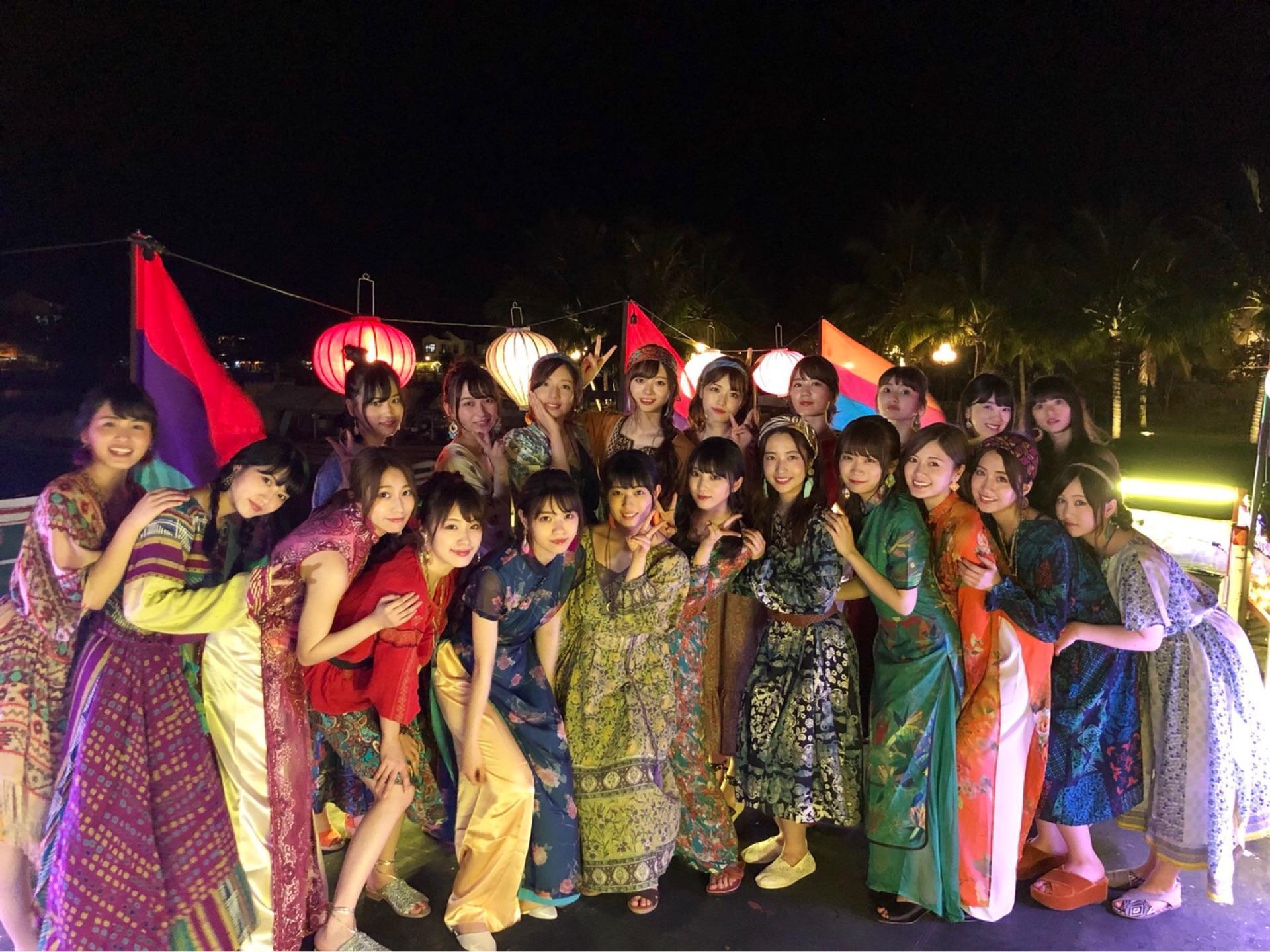 乃木坂46「ジコチューで行こう!」MV集合写真inベトナム