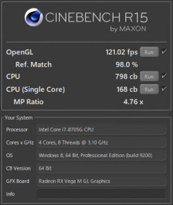 Spectre x360 15-ch000_Core i7-8705G_CINEBENCH R15_CPU_temp26_03_テスト結果b_t
