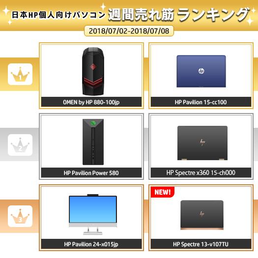 525_HPパソコン売れ筋ランキング_180708_01a