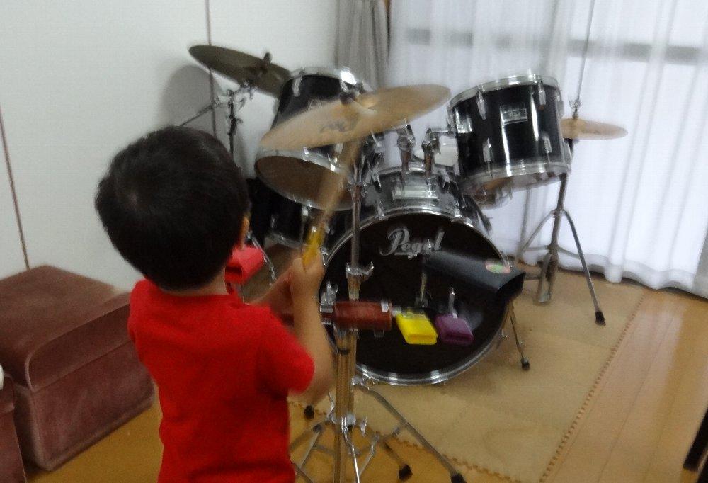 幼児のピアノレッスン・打楽器