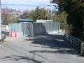 赤芝新田 257 逆Y字分岐点・坂上から坂下谷越え西福寺方向を見る