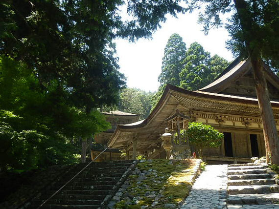 明通寺本堂と三重塔