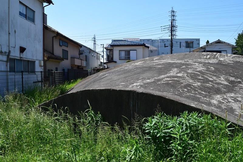 白糸台掩体壕5