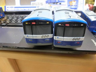 606F「がおがお号」(先頭車と後部車の前面)