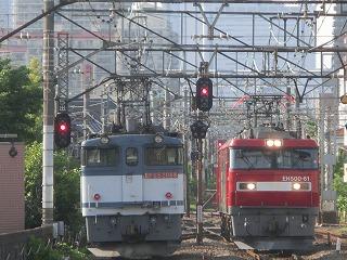 8072レのEH500-61号機(尻手駅)