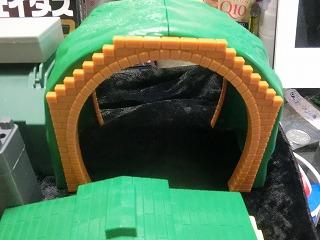 複線使用が出来るトンネル