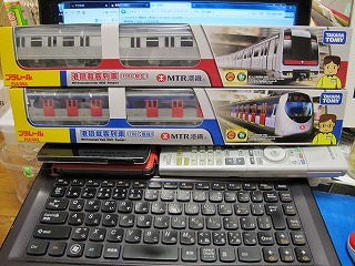 本日甲種回送された「香港地下鉄 プラレール」 2種