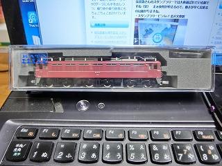 KATO京都店特製品 3066-6加工品 EF81-81お召仕様(国鉄時代) ②