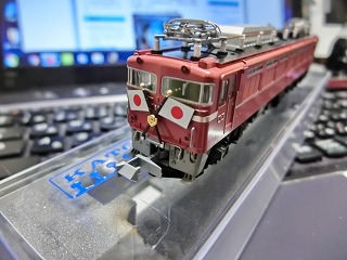 EF81-81お召仕様(国鉄時代)