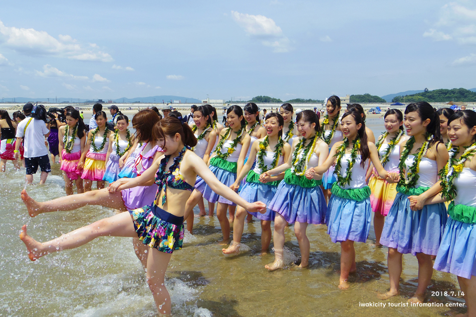 四倉海水浴場にて「平成30年いわき市海水浴場海開き式」が行われました! [平成30年7月15日(日)更新]14