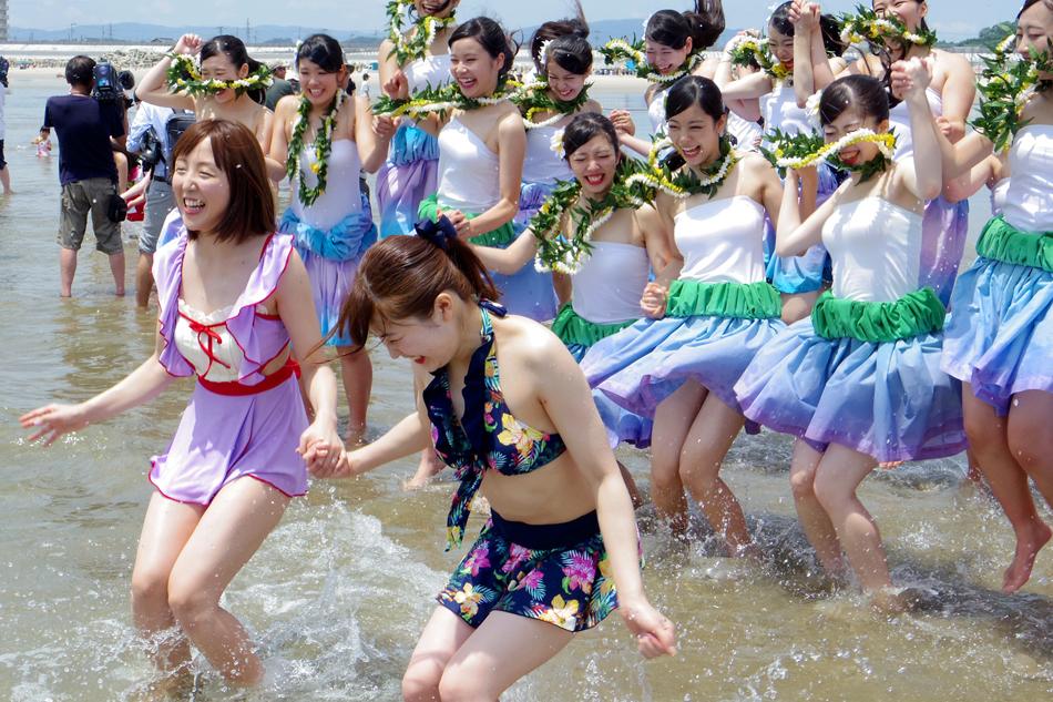 四倉海水浴場にて「平成30年いわき市海水浴場海開き式」が行われました! [平成30年7月15日(日)更新]15