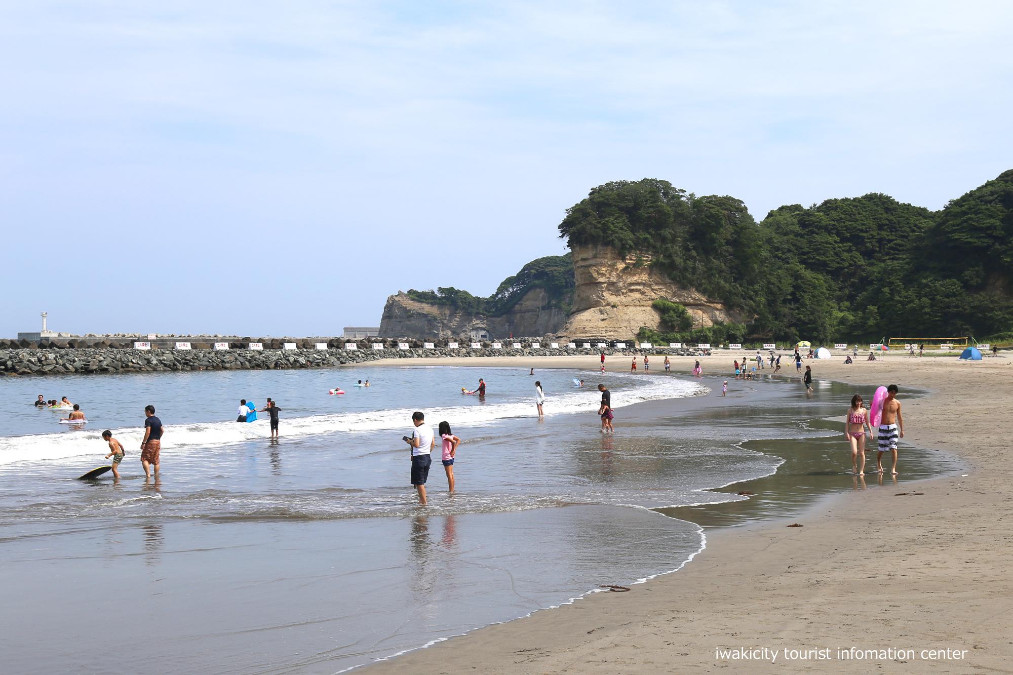 四倉海水浴場にて「平成30年いわき市海水浴場海開き式」が行われました! [平成30年7月15日(日)更新]勿来