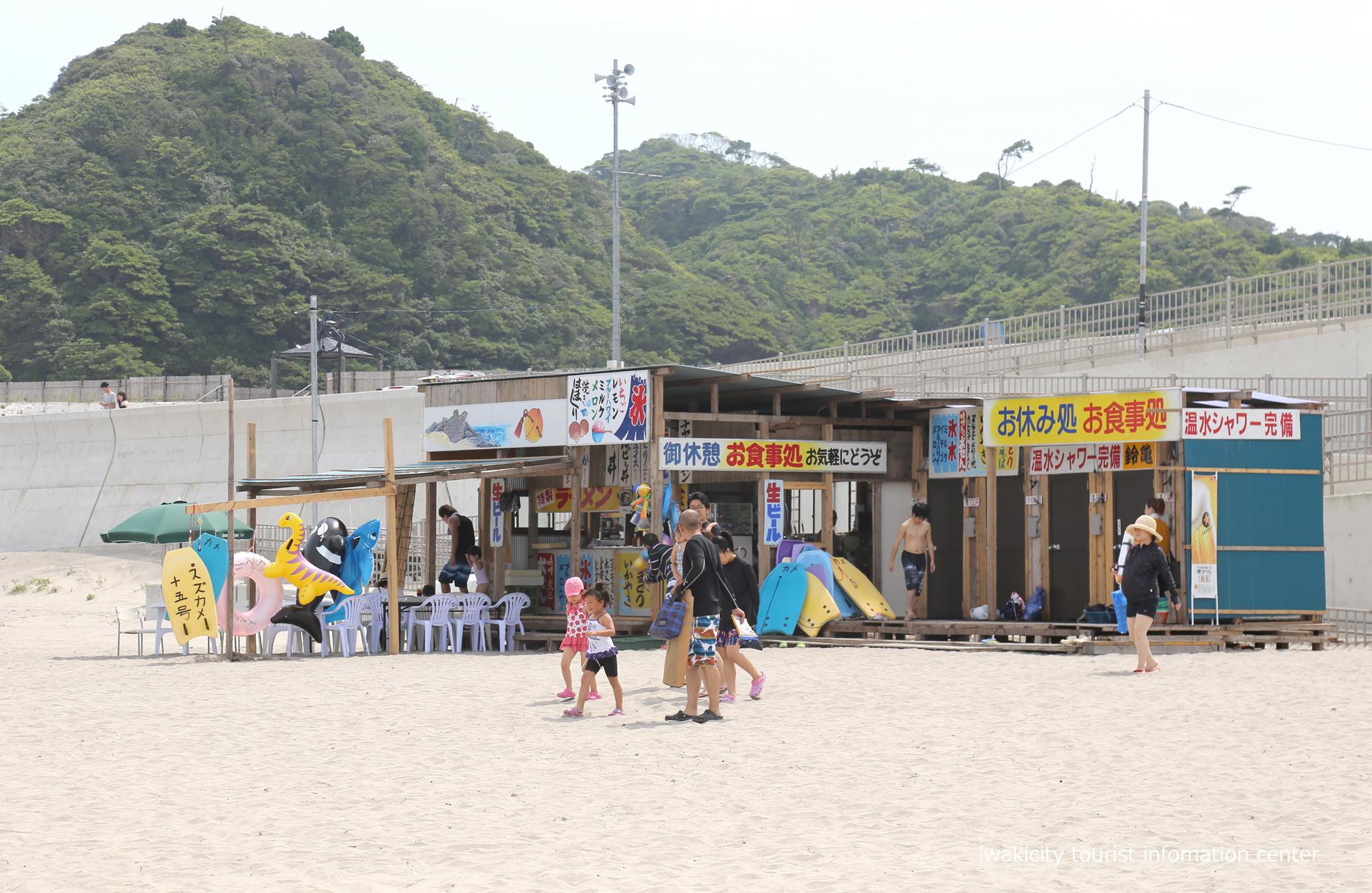 四倉海水浴場にて「平成30年いわき市海水浴場海開き式」が行われました! [平成30年7月15日(日)更新]薄磯