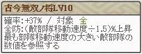 極 忠勝Lv10