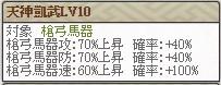 復刻天 宗茂LV10