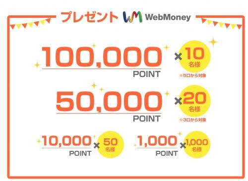 ウェブマネーキャンペーン3