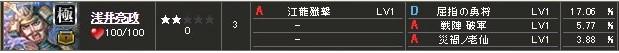 極 浅井亮政Sa