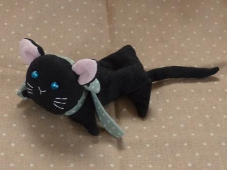 くたくた猫 (黒猫) 2
