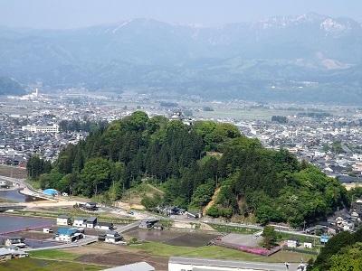 大野市戌山城跡の再踏査ブログ用 (6)