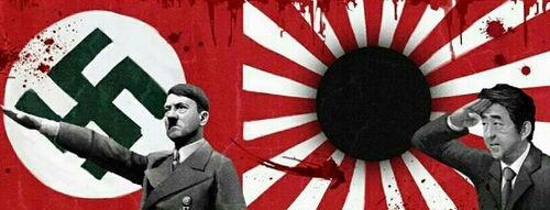 安倍晋三ヒットラー2