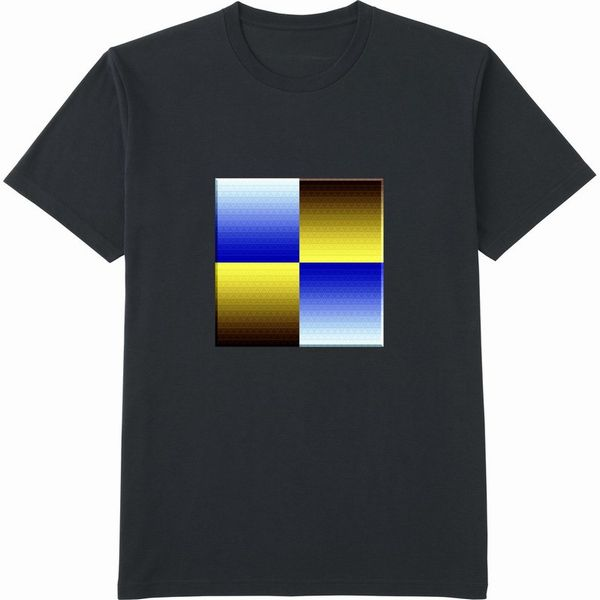 472860498_mirrorネガポジ反転連結立体枠リサイズ600Tシャツドライカラー黒