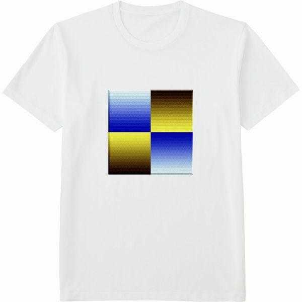 472860498_mirrorネガポジ反転連結立体枠リサイズ600Tシャツドライカラー白