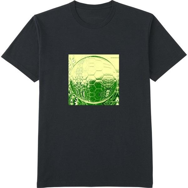 generated_mirror5Tシャツドライカラー黒