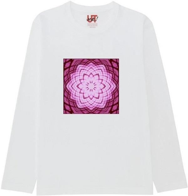 1807702963_mirror4Tシャツベーシック長袖白