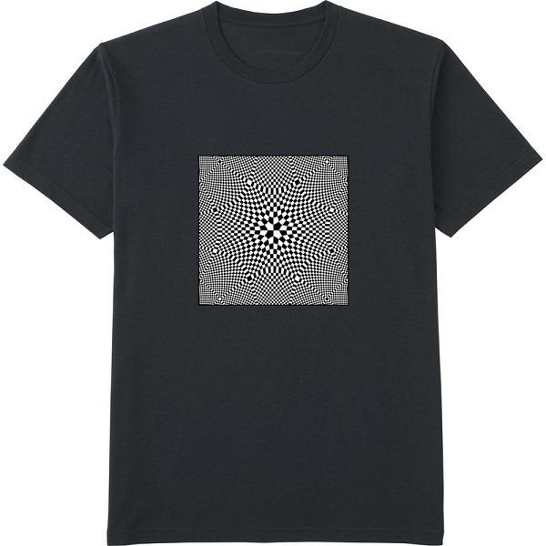 generated_mirror1明るさコントラストつまむ余白作成Tシャツドライカラー黒