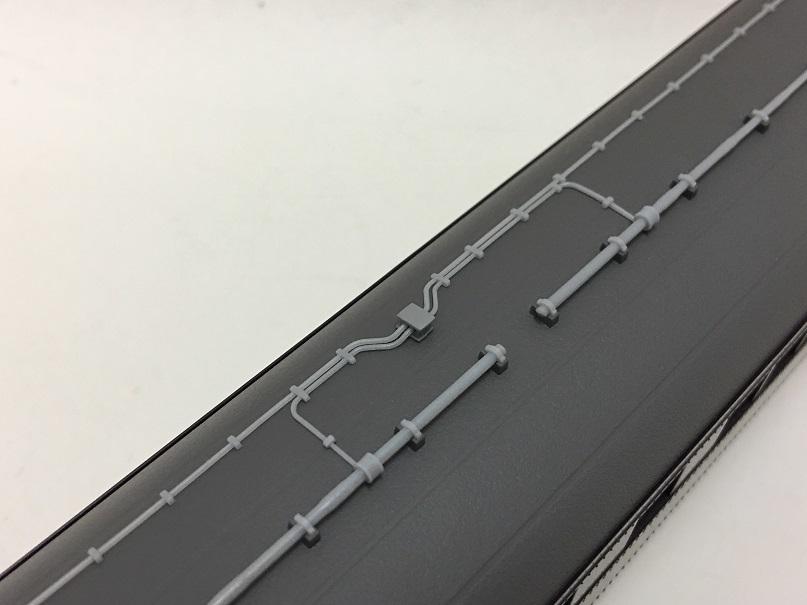天賞堂 お召列車 340 アンテナ配管