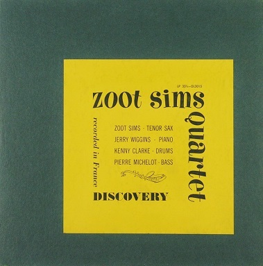 Zoot Sims Quartet Discovery DL 3015