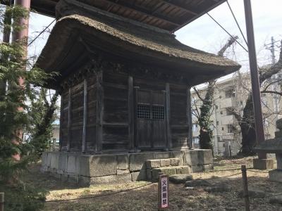 蒲生秀行廟所の入り口
