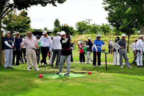 清月記杯パークゴルフ2018仙台大会からのチャリティ