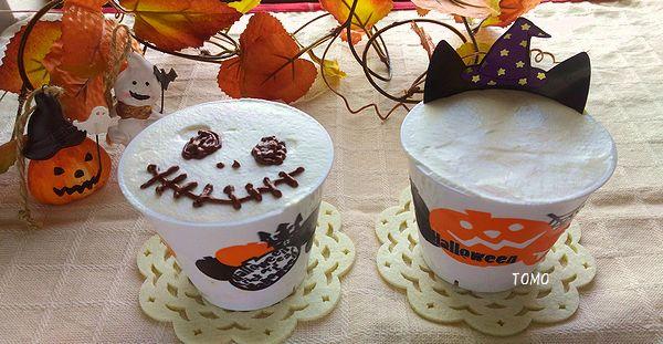 マシュマロでかぼちゃのムース2