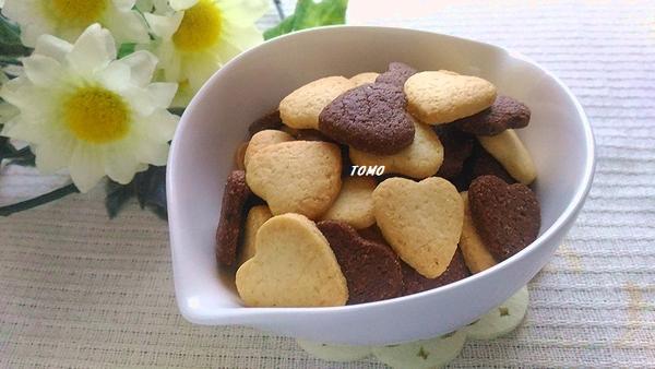 乳・卵不要のココアクッキー&プレーンクッキー