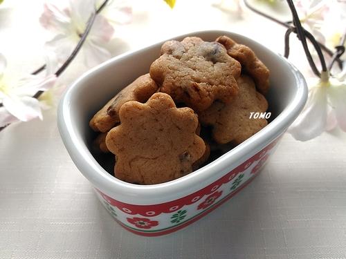 米油で粒あんクッキー