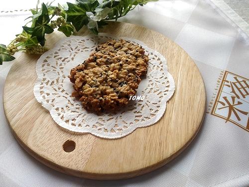 オートミールとごまのクッキー