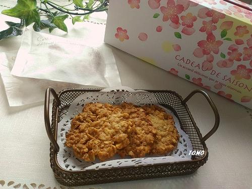 オートミールとピーナッツのクッキー1