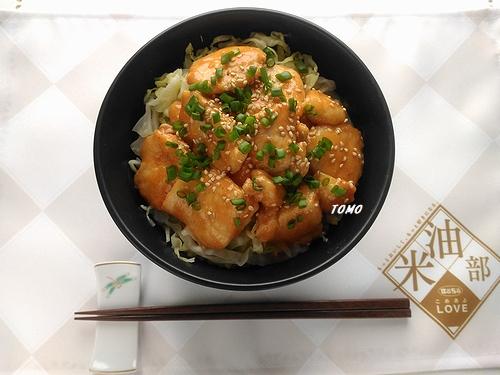 鶏むね肉のピリ辛コチュジャン味噌炒め