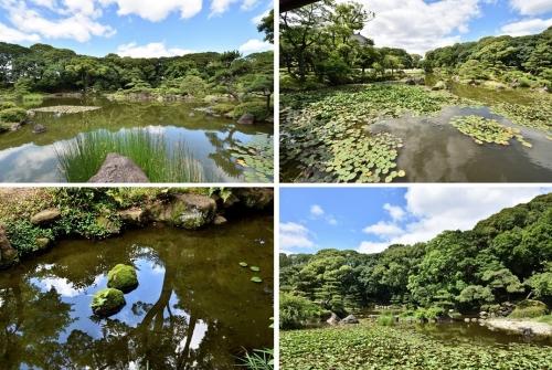 慶沢園の庭2