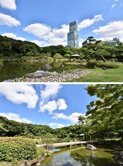 慶沢園の庭1