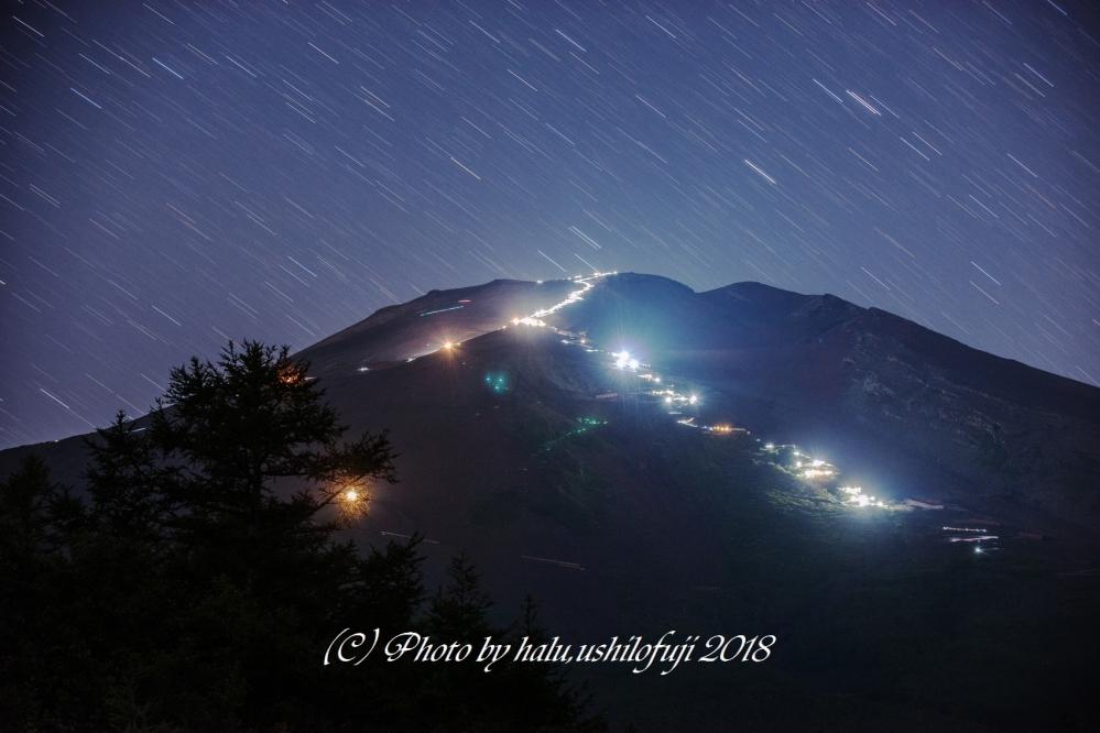 2018 07 21 滝沢林道 夜景 赤富士 D3x (37)