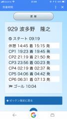 滝川100キロ2018-7