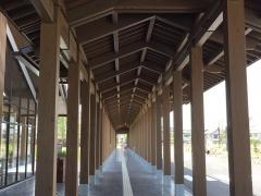 朱雀門ひろばの木造3