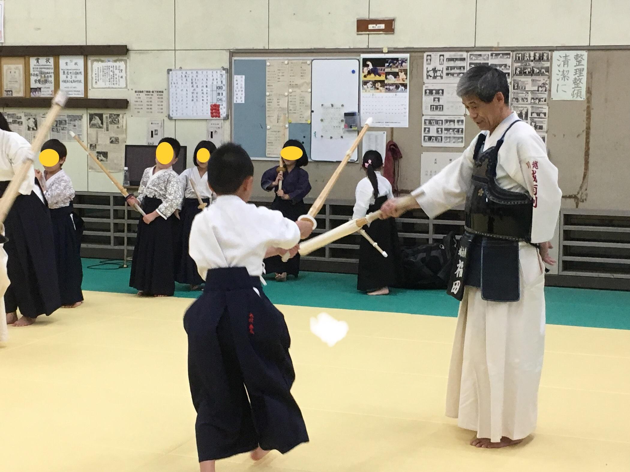 剣道体験会2