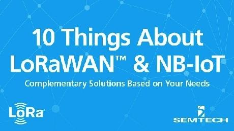 LoRaWANとNB-IoTに関する10項目