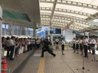 社会を明るくする運動 田町駅