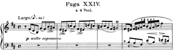 Fuga XXIV