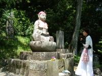 2018-07-14重箱石しろぷーうさぎ・中尊寺ハス祭り006