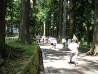 2018-07-14重箱石しろぷーうさぎ・中尊寺ハス祭り010